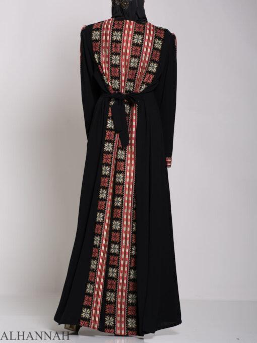 Alhena Embroidered Palestinian Fellaha Thobe th770 (3)