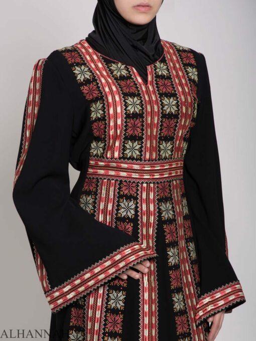 Alhena Embroidered Palestinian Fellaha Thobe th770 (5)