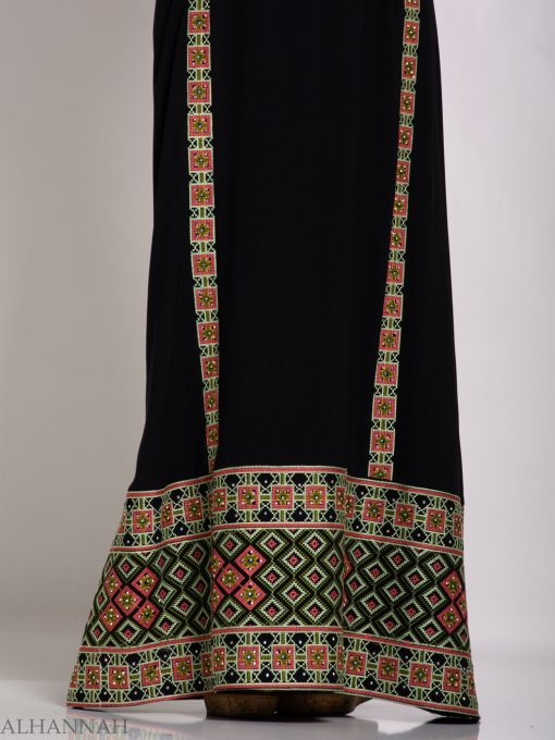 Alimah Embroidered Palestinian Fellaha Thobe th766 (3)