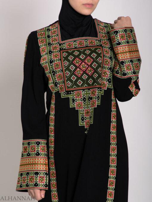 Alimah Embroidered Palestinian Fellaha Thobe th766 (4)