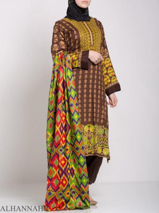 Alimah Salwar Kameez - Premium Lawn Cotton sk1219 (1)