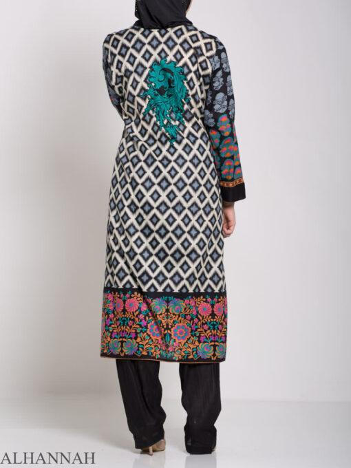 Alimah Salwar Kameez - Premium Lawn Cotton sk1219 (10)