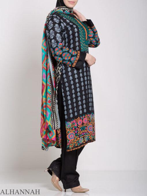 Alimah Salwar Kameez - Premium Lawn Cotton sk1219 (5)