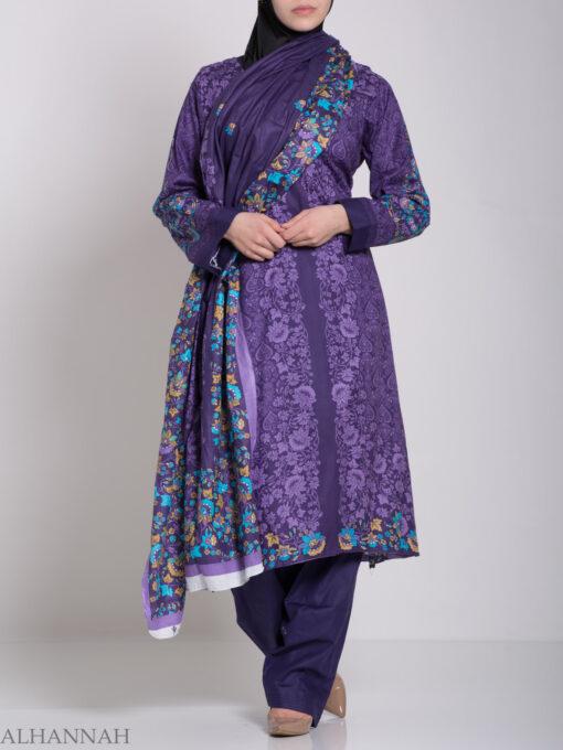 Aliyyah Salwar Kameez - Premium Cotton sk1220 (13)