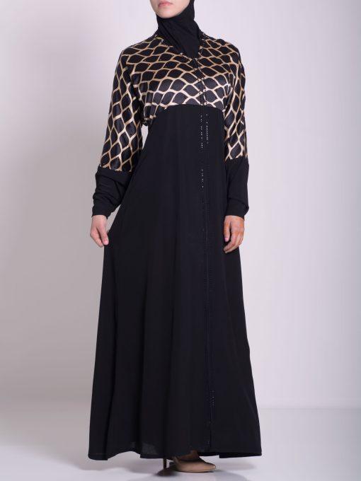 Arabian Khalije Abaya ab637 (2)