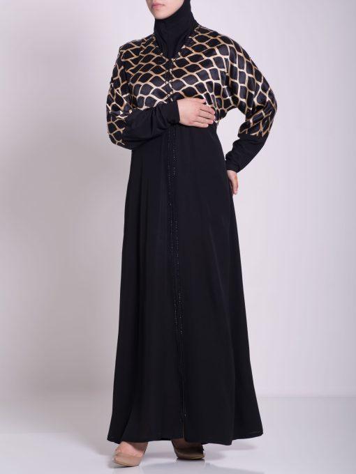 Arabian Khalije Abaya ab637 (3)