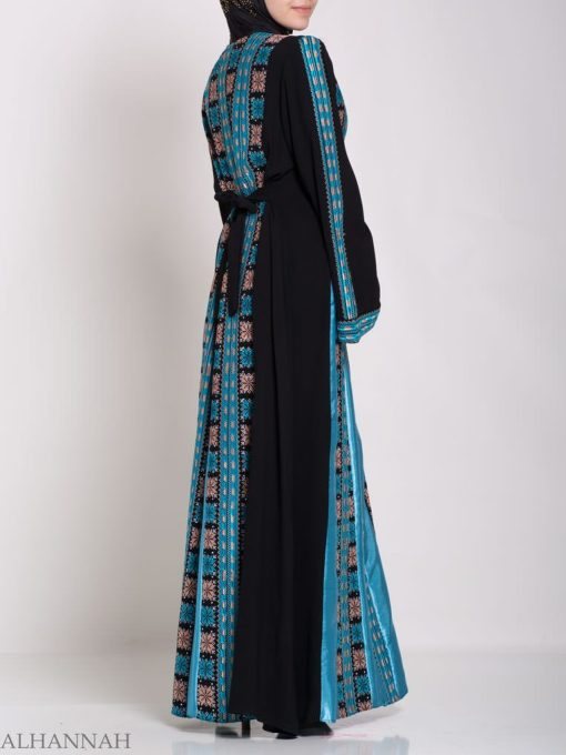 Asma Embroidered Palestinian Fellaha Thobe th768 (3)