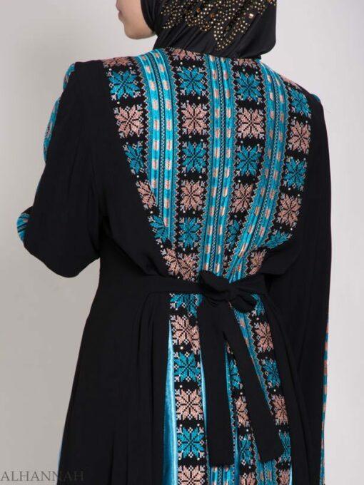 Asma Embroidered Palestinian Fellaha Thobe th768 (5)