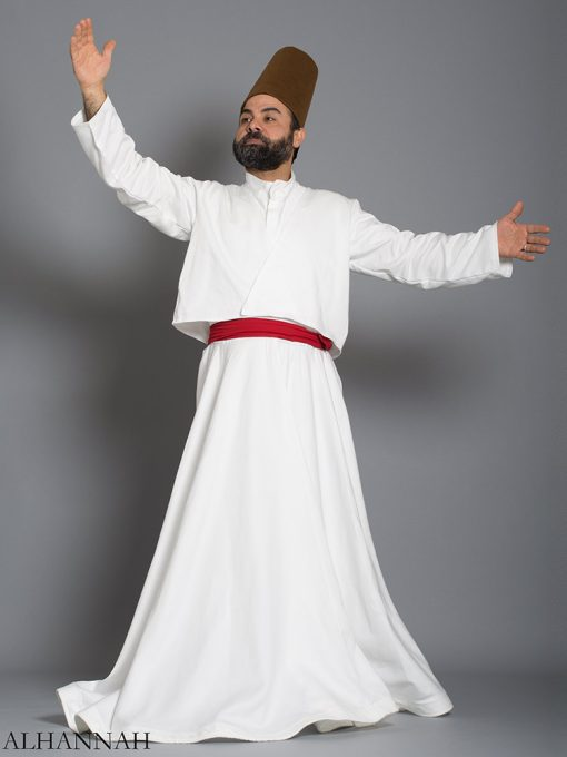 Authentic Whirling Dervish Costume me482 (1)