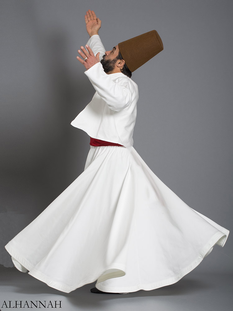 Authentic Whirling Dervish Costume me482 (10)