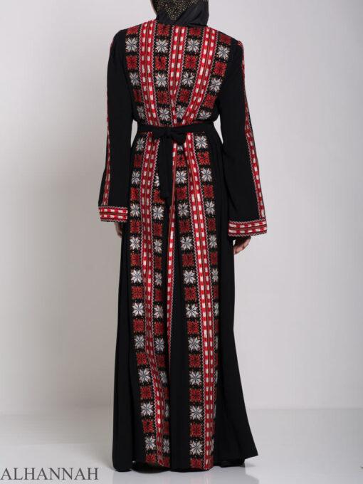 Badra Embroidered Palestinian Fellaha Dress th761 (11)