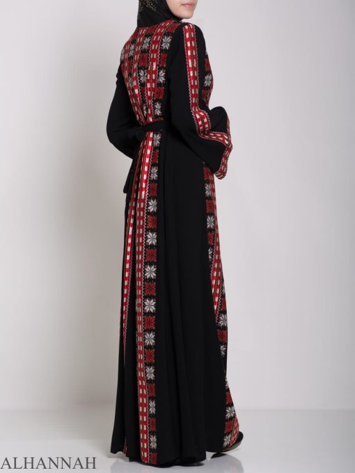Badra Embroidered Palestinian Fellaha Dress th761 (7)
