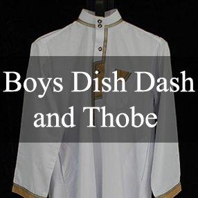 Boys Dish Dash and Thobe
