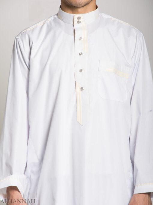 Deluxe Mens Salwar Kameez with Contrasting Trim me683 (1)
