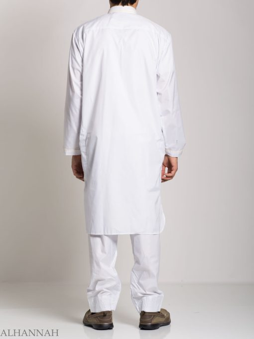 Deluxe Mens Salwar Kameez with Contrasting Trim me683 (4)