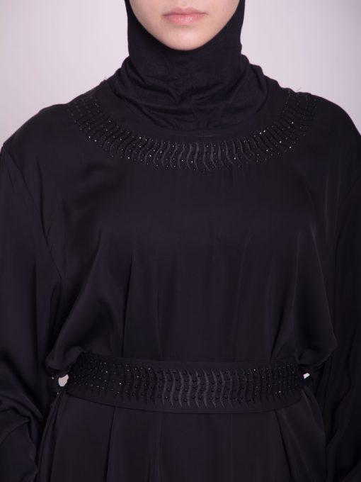 Embroidered Arabian Khalije Abaya ab638 (6)