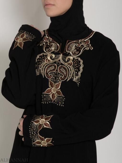 Embroidered Jordanian Abaya ab619 (9)