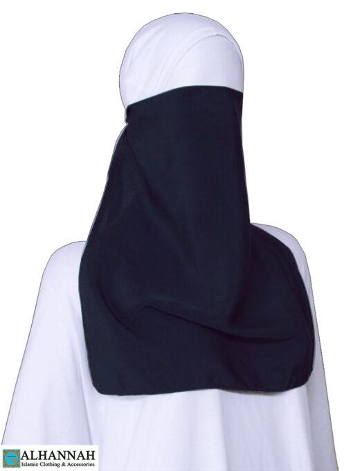 Half Niqab with Elastic Closure