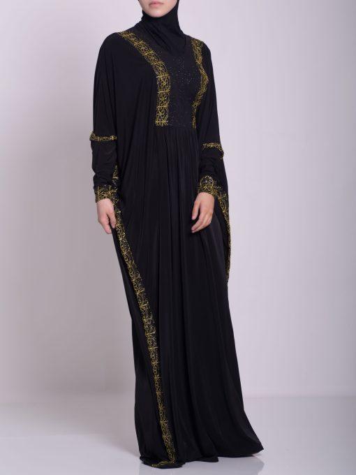 Hafthah Abaya - Pull Over Style ab667 (2)