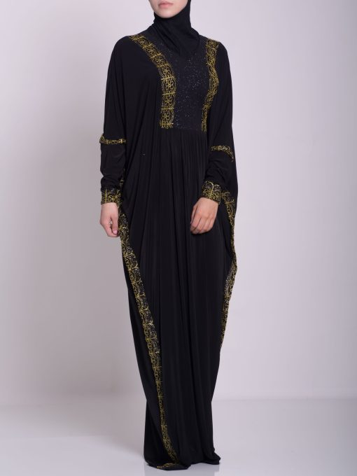 Hafthah Abaya - Pull Over Style ab667 (3)