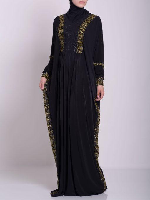 Hafthah Abaya - Pull Over Style ab667 (4)