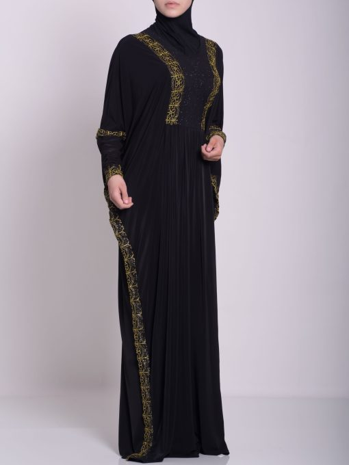 Hafthah Abaya - Pull Over Style ab667 (6)
