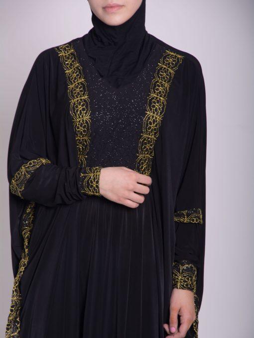Hafthah Abaya - Pull Over Style ab667 (8)