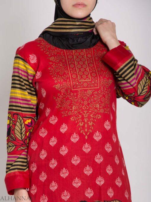 Hana Salwar Kameez - Premium Lawn Cotton sk1215 (6)