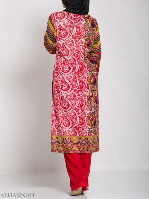 Hana Salwar Kameez - Premium Lawn Cotton sk1215 (7)