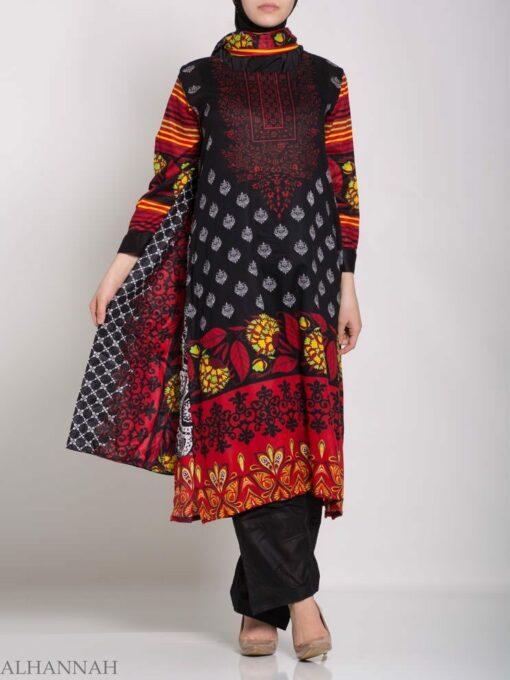 Hana Salwar Kameez - Premium Lawn Cotton sk1215 (9)