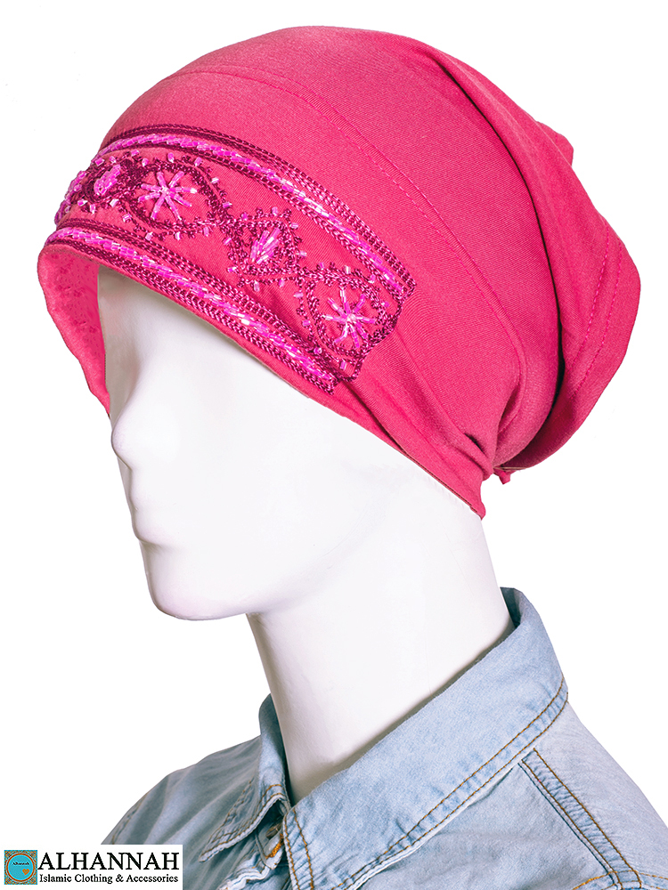 Hijab Underscarf in French Rose a