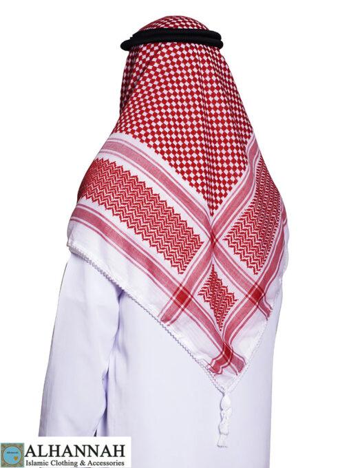 King Abdullah Premium Shemagh