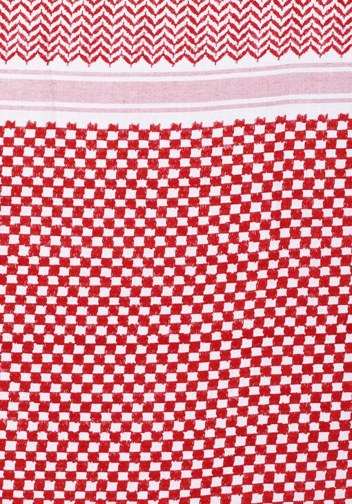 King Abdullah Premium Shemagh Fabric Close up 2