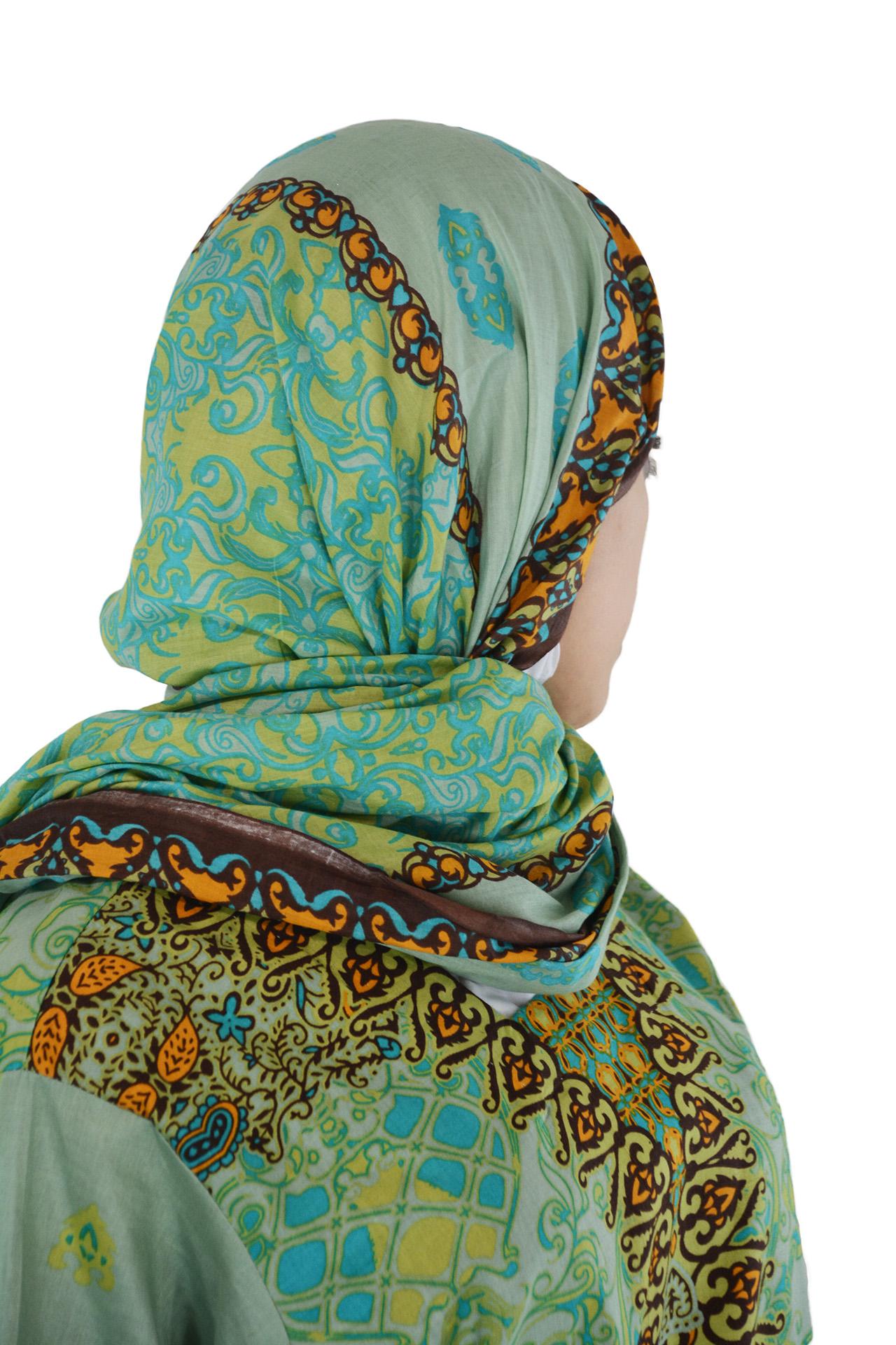 MAJIDAH SALWAR KAMEEZ Green SK1223 Closeup