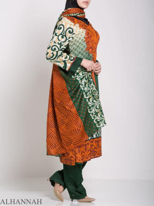 Maysa Salwar Kameez - Premium Lawn Cotton sk1235 (5)