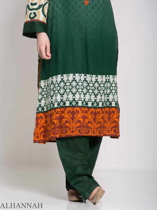 Maysa Salwar Kameez - Premium Lawn Cotton sk1235 (6)