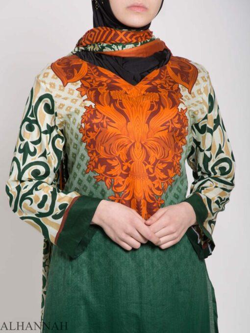 Maysa Salwar Kameez - Premium Lawn Cotton sk1235 (7)