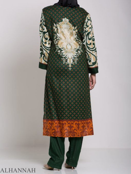Maysa Salwar Kameez - Premium Lawn Cotton sk1235 (8)