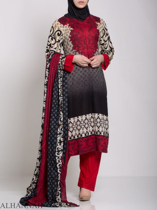 Maysa Salwar Kameez - Premium Lawn Cotton sk1235 (9)