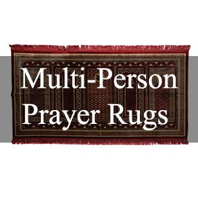 Multi-Person Islamic Prayer Rugs