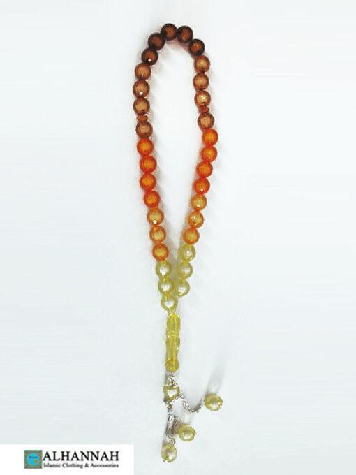 Multi Tone Tisbah Prayer Beads