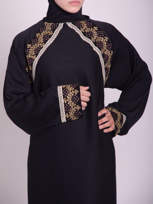 Najwa Abaya - Pull Over Style ab661 (12)