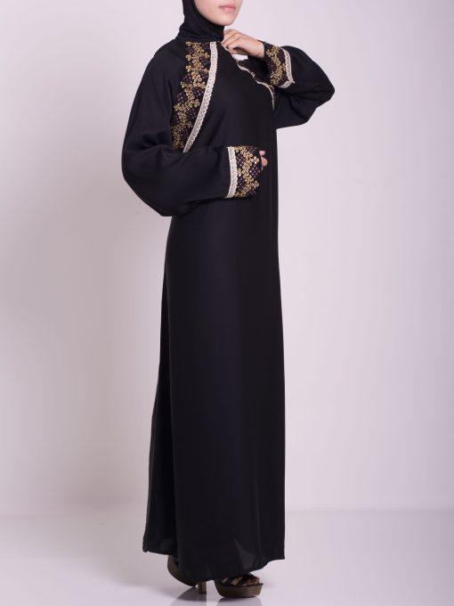 Najwa Abaya - Pull Over Style ab661 (2)