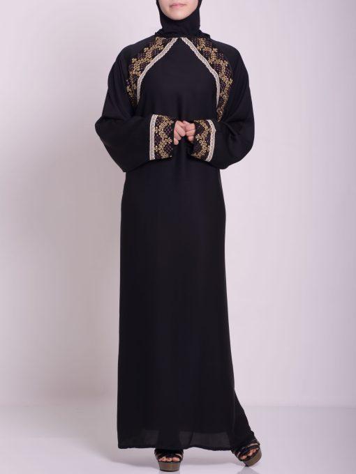 Najwa Abaya - Pull Over Style ab661 (4)
