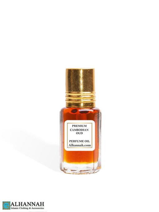 Premium Cambodian Oud Attar Perfume Oil