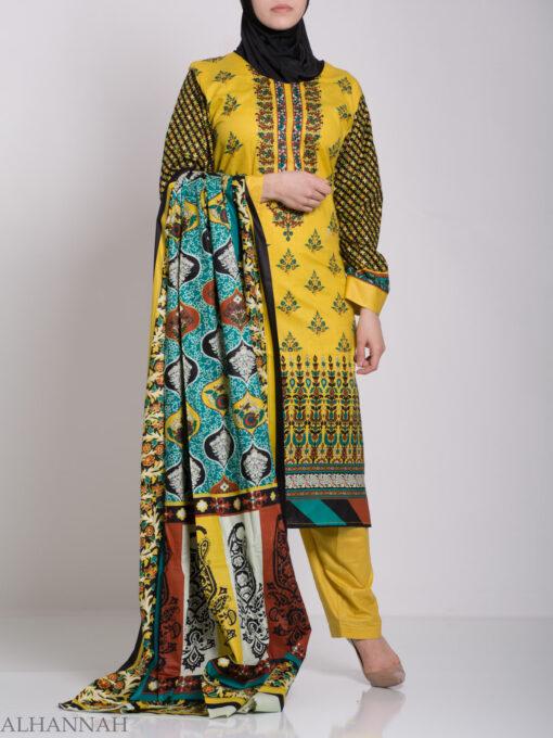 Rabiah Salwar Kameez - Premium Cotton sk1225 (13)