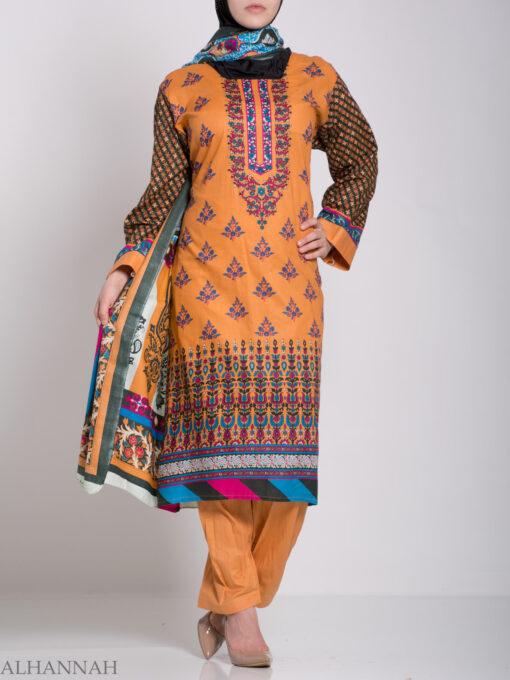 Rabiah Salwar Kameez - Premium Cotton sk1225 (7)