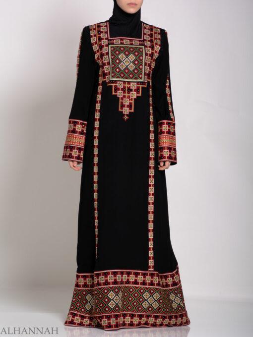 Rashida Embroidered Palestinian Fellaha Thobe th762 (3)