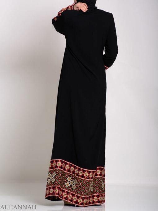 Rashida Embroidered Palestinian Fellaha Thobe th762 (5)