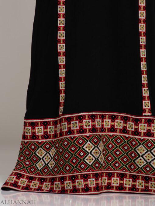 Rashida Embroidered Palestinian Fellaha Thobe th762 (6)
